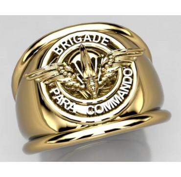 Para commando - Or massif jaune ou gris - selon cours du jour de l'Or et taille de doigt - Belgique
