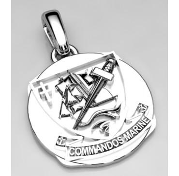 Médaillon Commando de Marine
