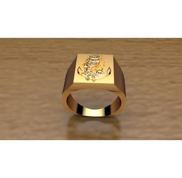 8EME RPIMa - Or massif jaune ou gris - selon cours du jour de l'Or et taille de doigt